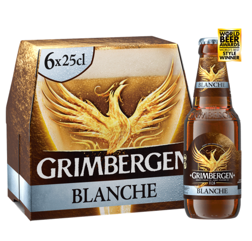 Grimbergen BLANCHE, 6*0,25 l but.