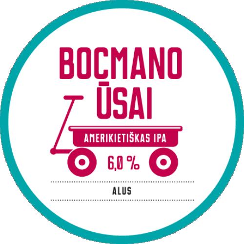Raudonų plytų BOCMANO ŪSAI (1L)