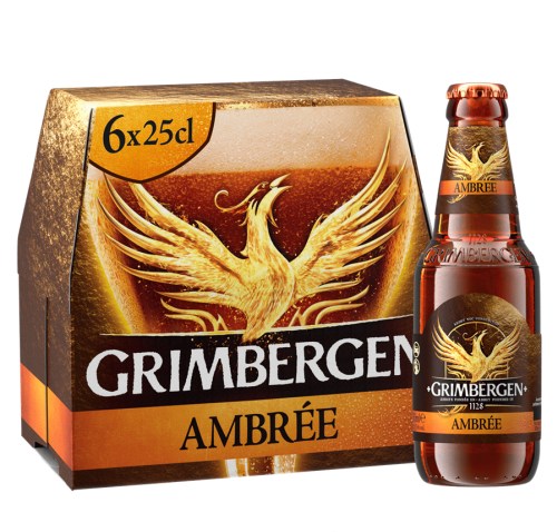 Rinkinys Grimbergen AMBREE, 6*0,25 l but.