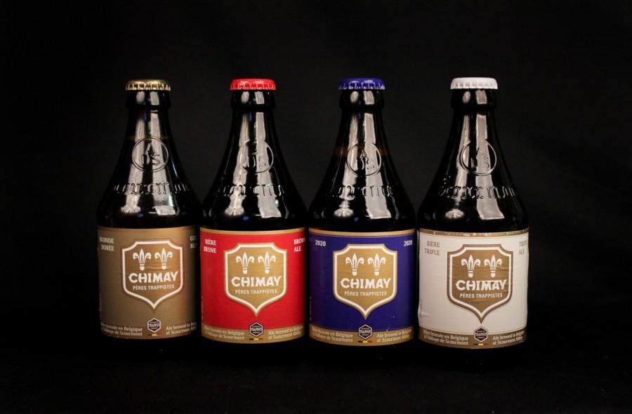 Rinkinys belgiško alaus gurmanams CHIMAY, 4*0,33 l but.