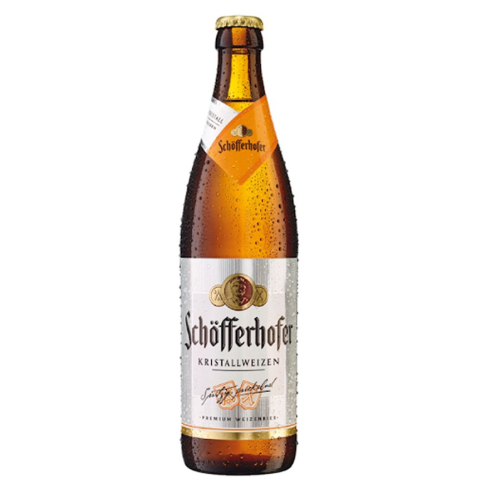 Schofferhofer KRISTALLWEIZEN (0,5 l but.)
